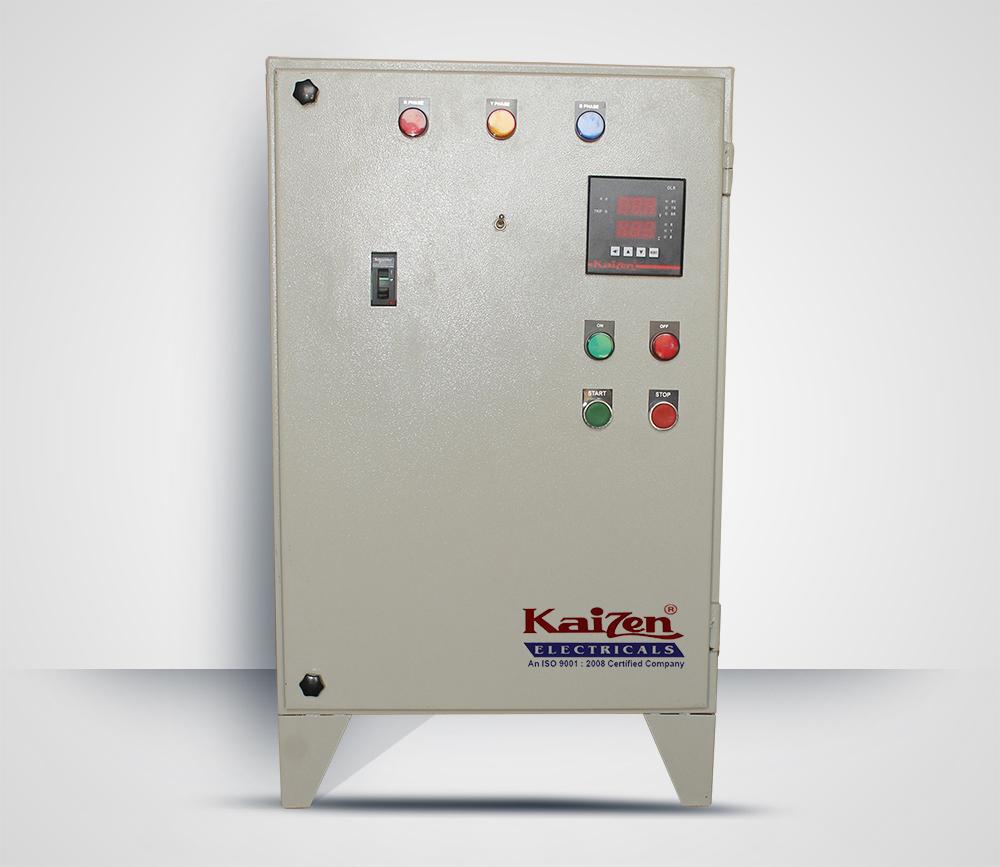 Auto Transformer Switch Starter Motor Control Panel